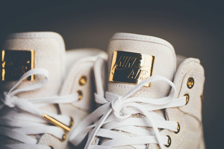 Air Jordan 1 Pinnacle 24K Gold 3