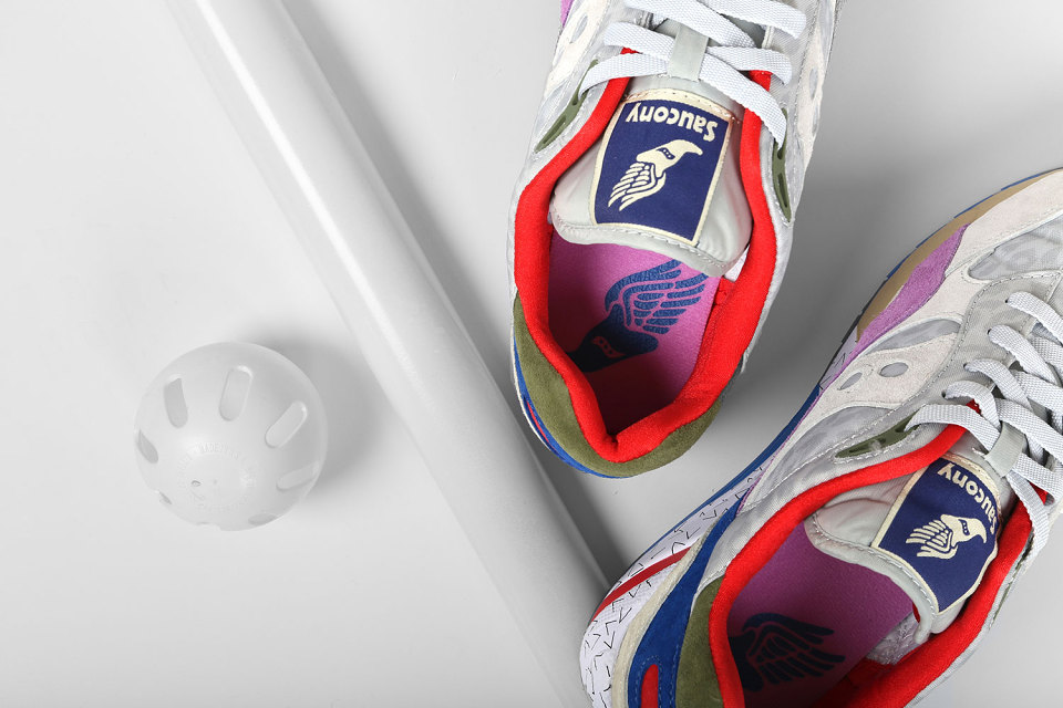 "Bodega x Saucony Elite G9 Shadow 6 ""Pattern Recognition"" Pack 2"