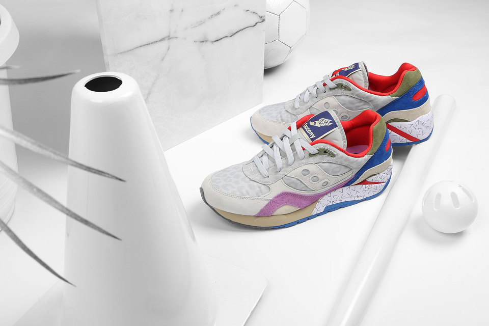 "Bodega x Saucony Elite G9 Shadow 6 ""Pattern Recognition"" Pack 3"