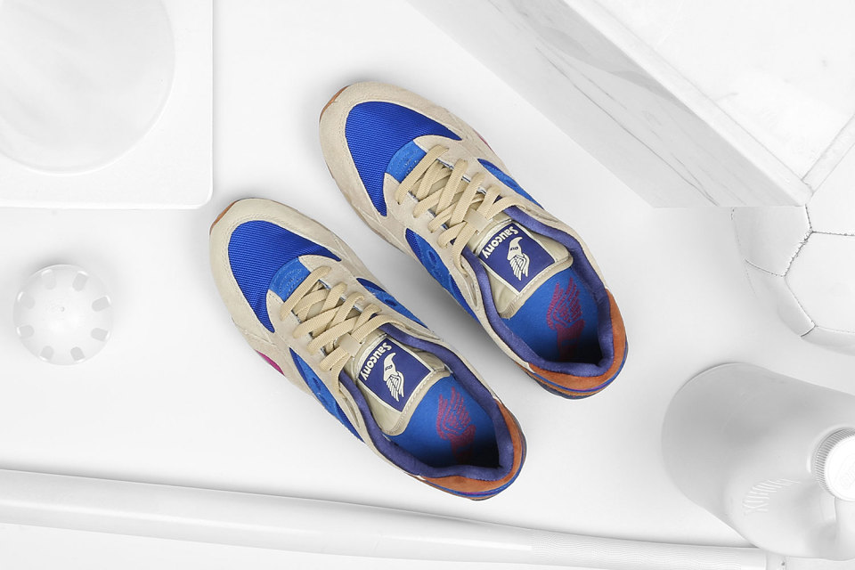 """Bodega x Saucony Elite G9 Shadow 6 """"Pattern Recognition"""" Pack 7"""