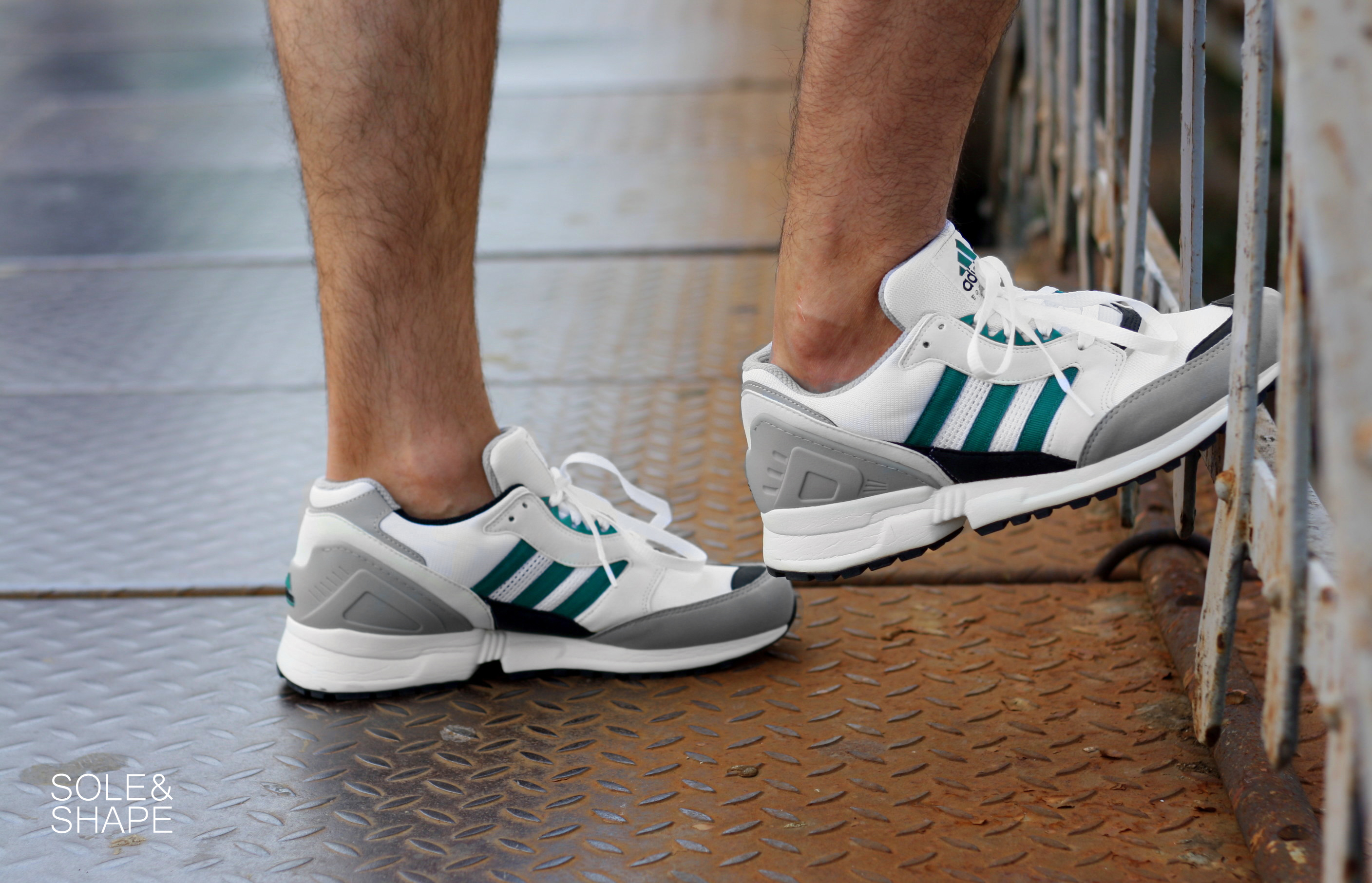 check out 2b427 b040c On feet: Adidas EQT Running Cushion '91 OG – SOLE & SHAPE®