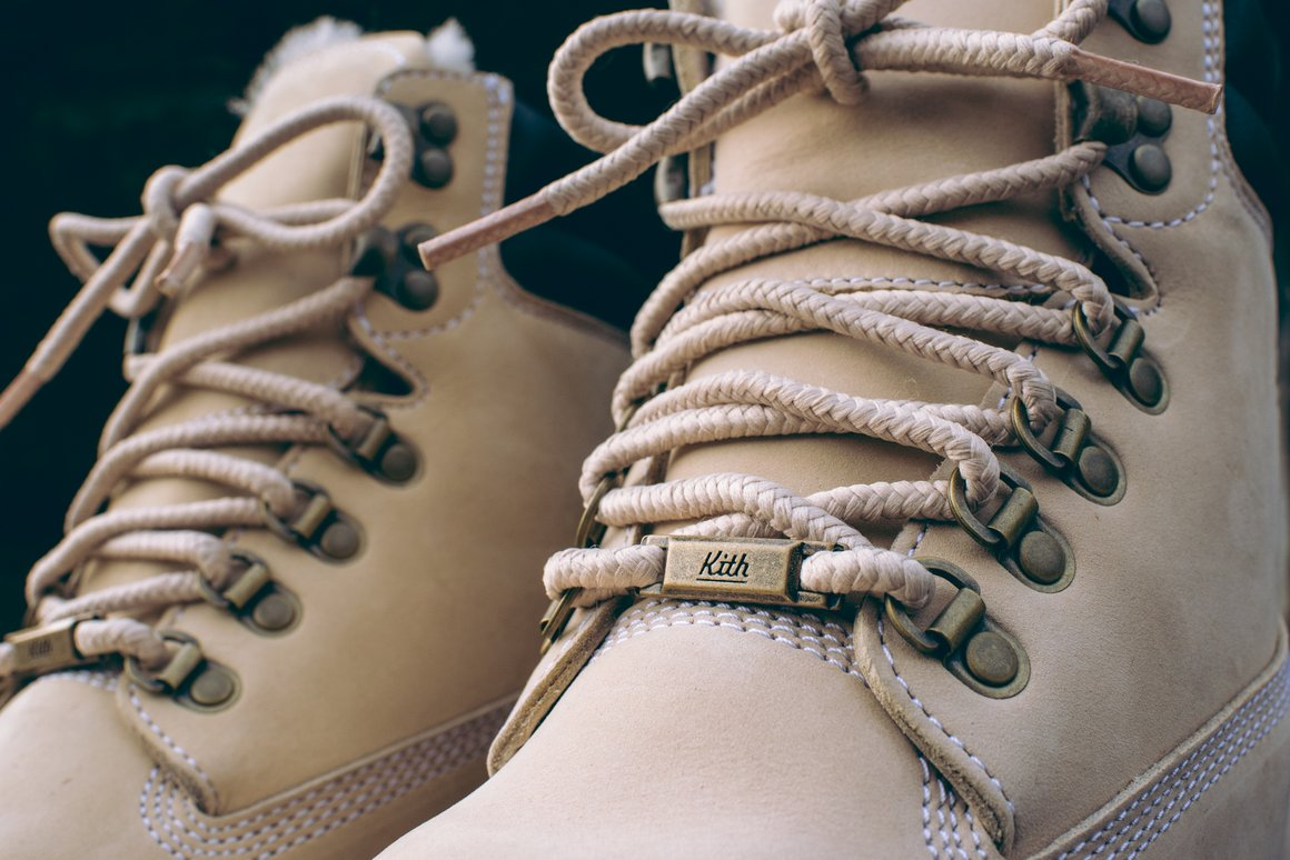 Ronnie Fieg x Timberland collection for Kith Aspen </p>                     </div>   <!--bof Product URL --> <!--eof Product URL --> <!--bof Quantity Discounts table --> <!--eof Quantity Discounts table --> </div>                        </dd> <dt class=
