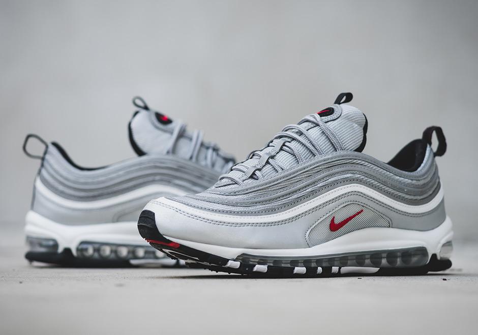Cheap Nike Air Max 97 Og Metallic Silver (312641 069