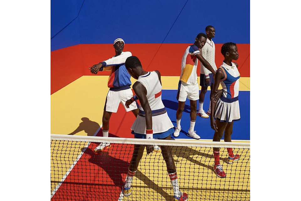 buy online 3e0f7 8fde8 Adidas launches a capsule tennis collection by Pharrell Williams