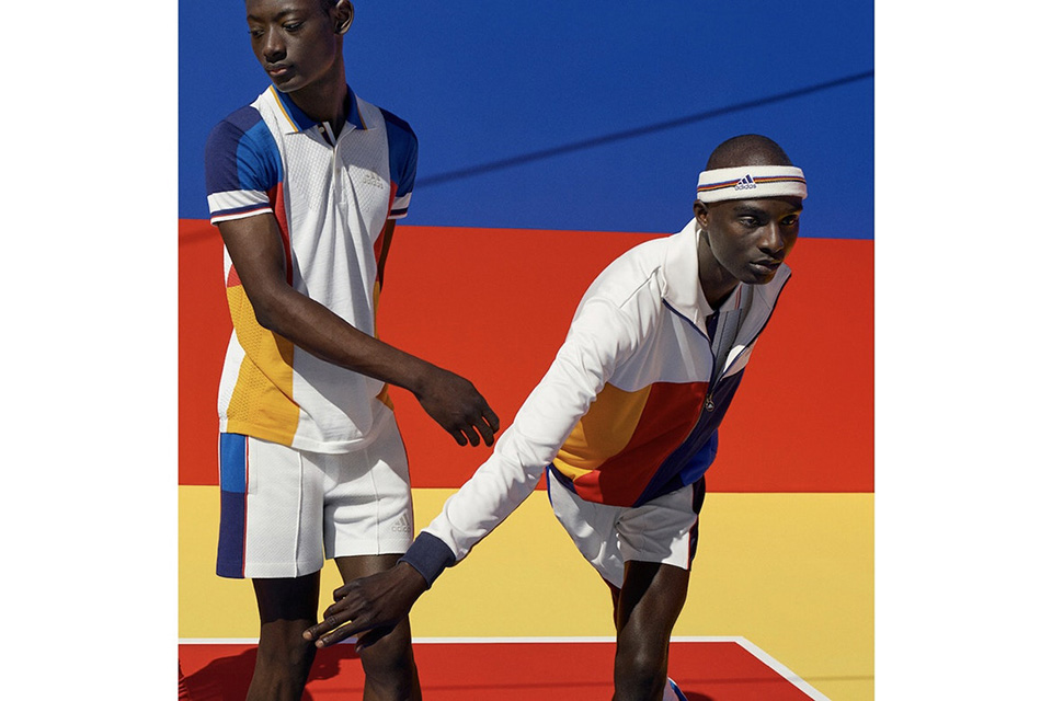ca1500f121e40 The Adidas Tennis Collection by Pharrell Williams launches Aug. 31 through  adidas.com and select stores
