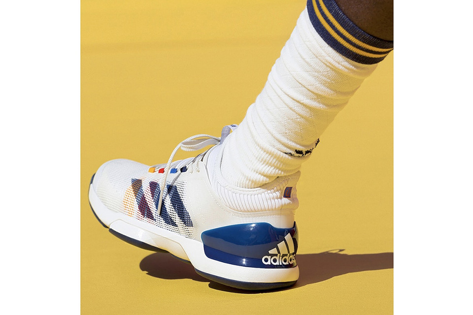 online store 5d856 a0e23 The Adidas Tennis Collection by Pharrell Williams launches Aug. 31 through  adidas.com and select stores, including Sneakersnstuff and Slam Jam  Socialism.