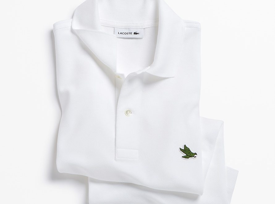 a4a09258f2f5 Lacoste s iconic Crocodile makes room for 10 Endangered Species on ...