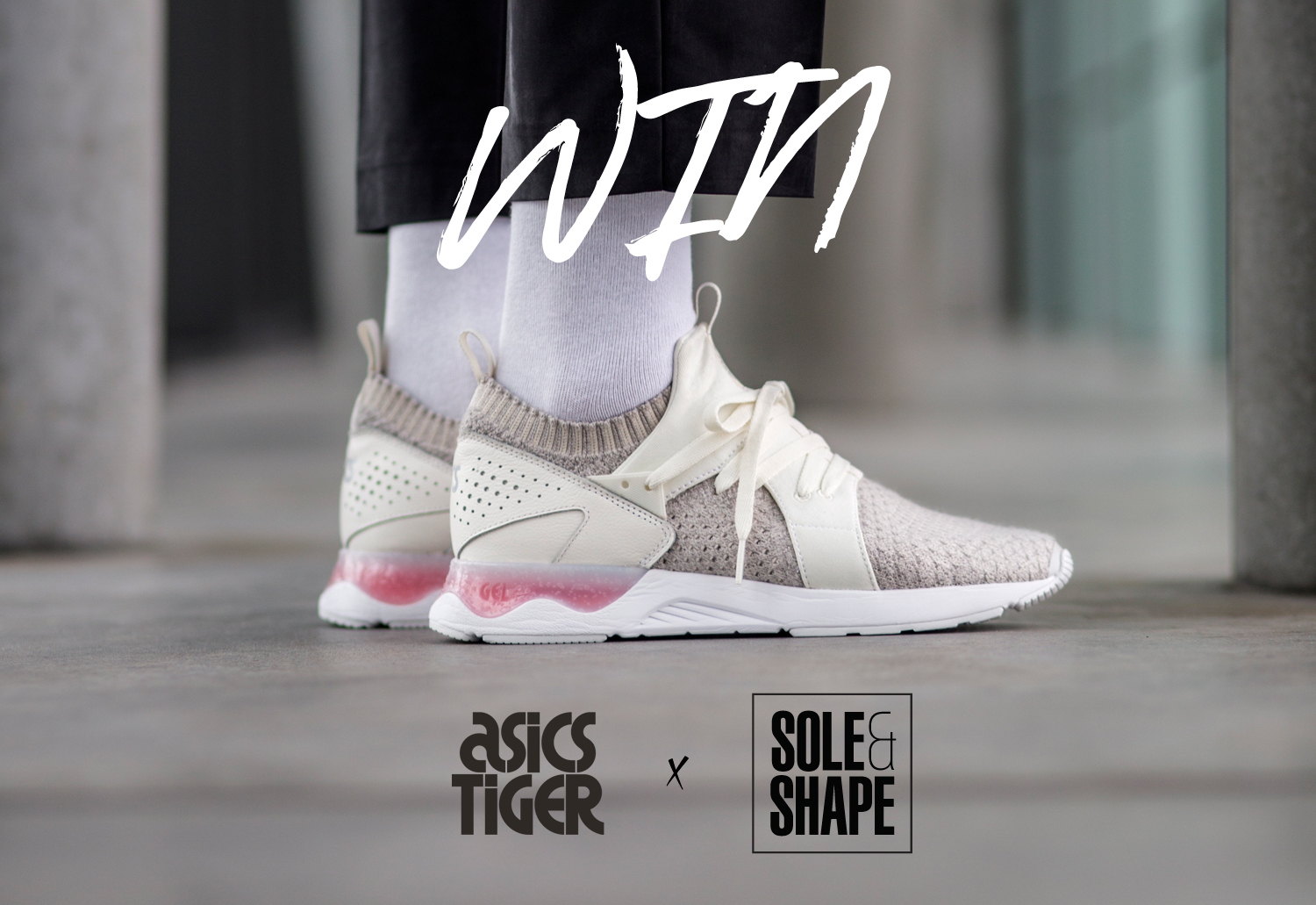 WIN: One pair of ASICS Tiger GEL Lyte V Sanze — closed