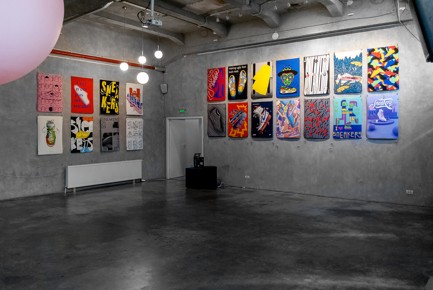sole and shape posterjam offbeat sneakers exhibition powered by footshop