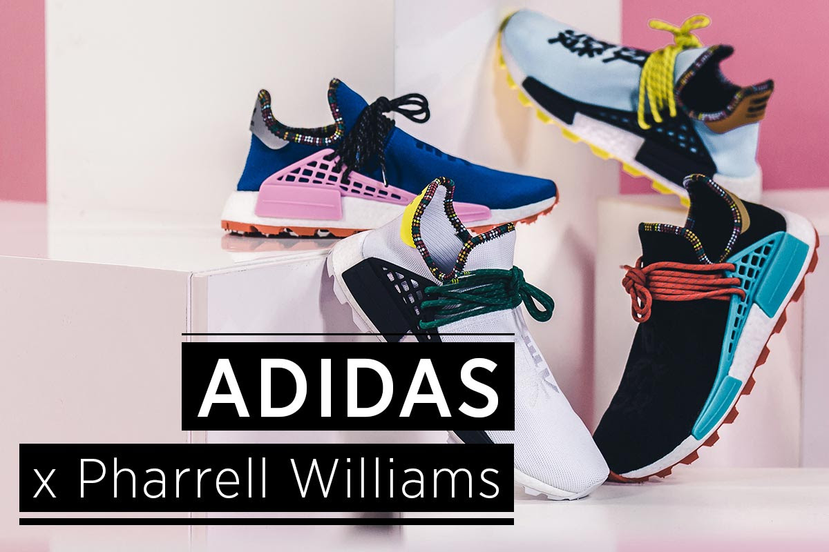adidas pharrell williams human collection drop 2018 fal winter soleandshape