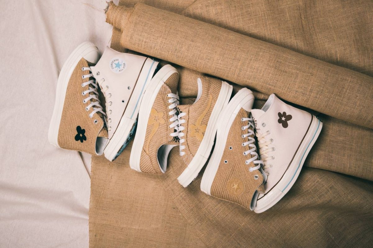 Converse Tyler The Creator Golf Le Fleur All Neutral Burlap
