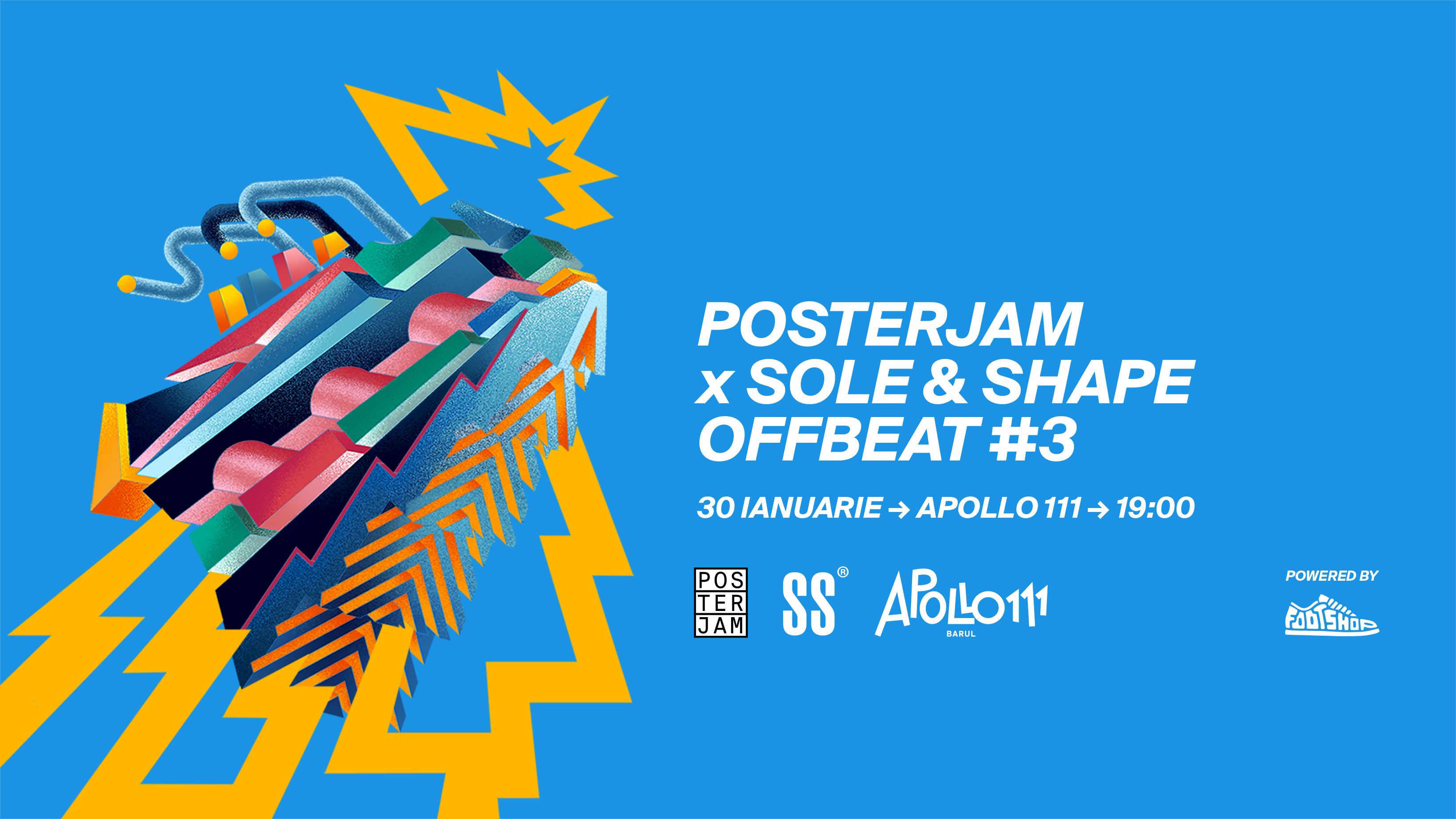 PosterJam x SOLE   SHAPE Offbeat  3 XHIBITION powered by Footshop cc4c994e1