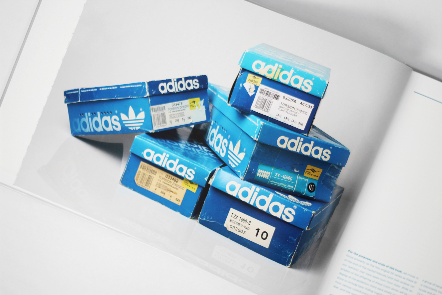 faa667405f269 adidas  ZX Sneaker Series  The Roots of Running book is a jam