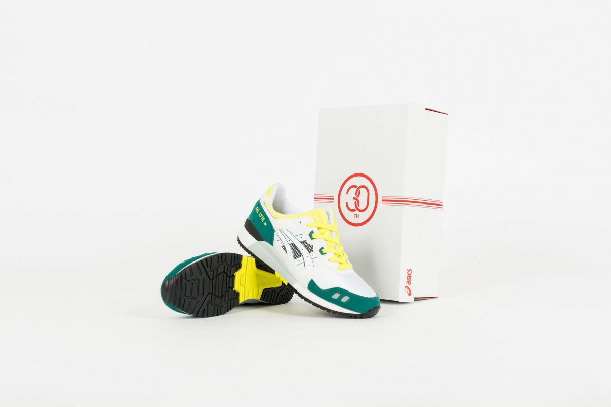 asics gel lyte_iii OG 30th anniversary 1191a266-100 white yellow release date price sole and shape