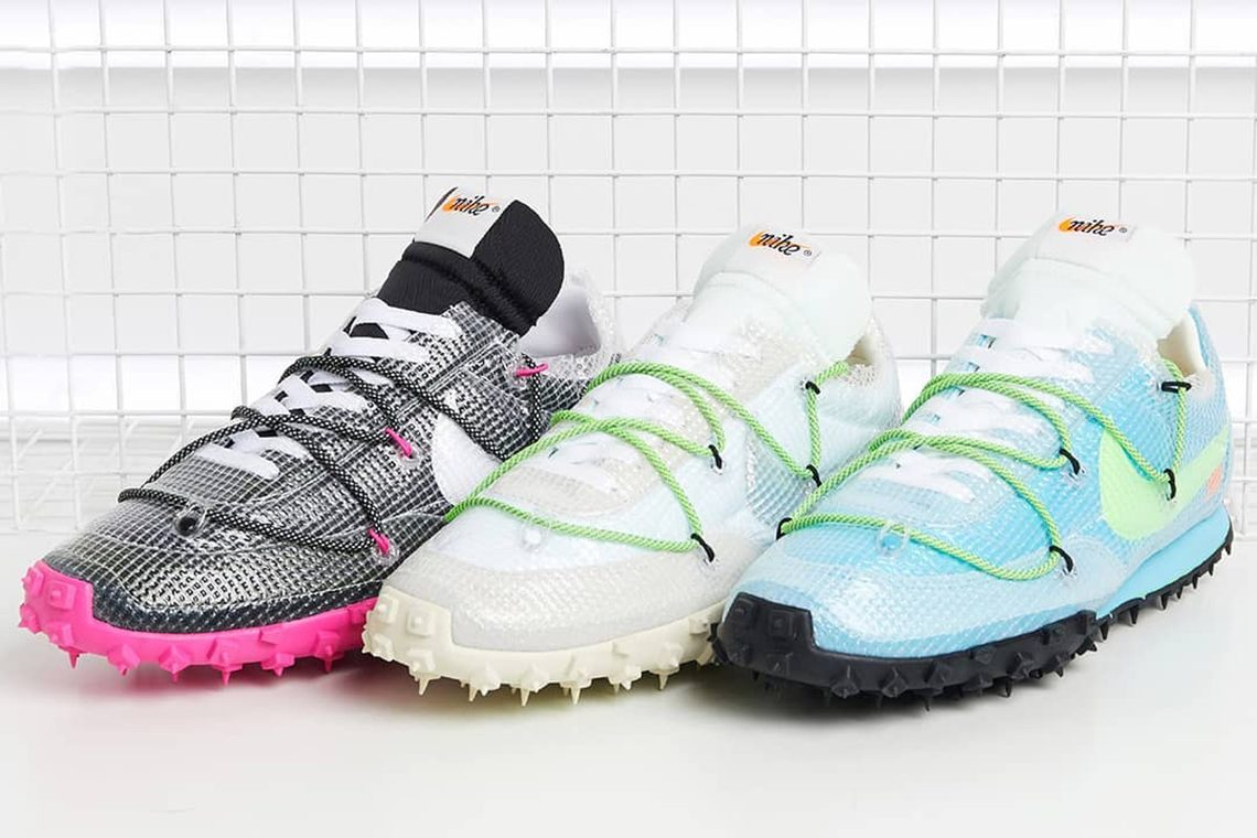 Off White Nike Waffle Racer release date price SOLE AND SHAPE
