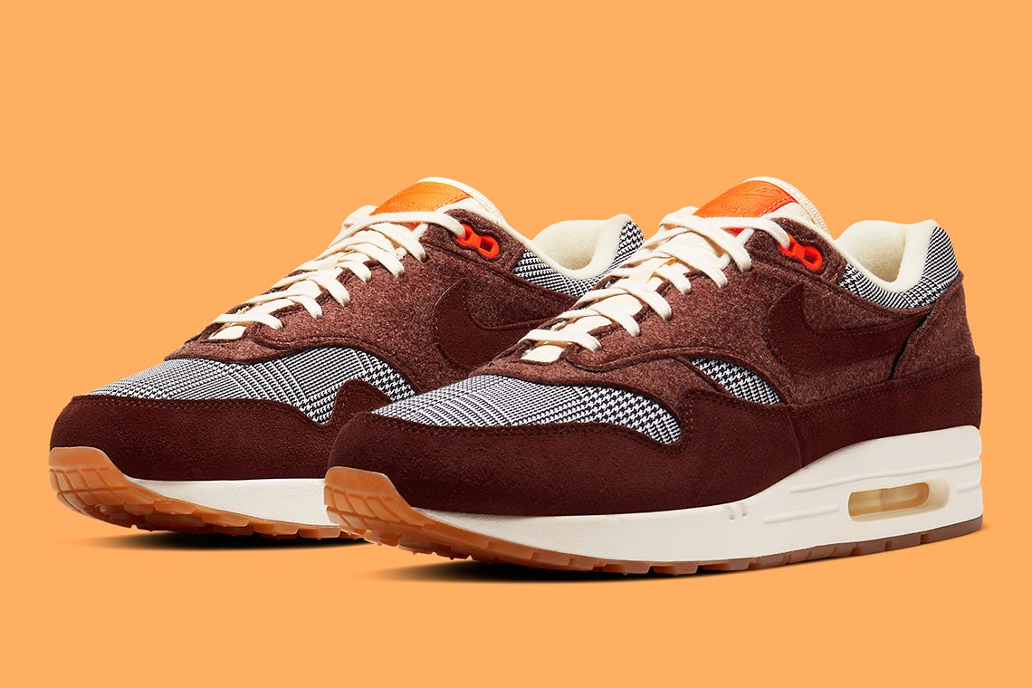 nike air max 1 houndstooth CT1207 200 release info date price SOLE AND SHAPE