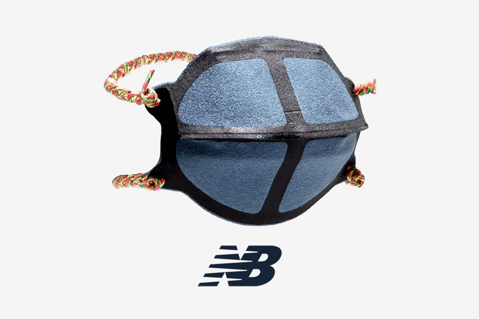 new balance mask sole and shape covid19